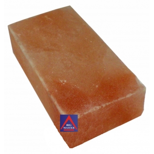 Кирпич гималайской соли 200х100х50 мм для бани и сауны (все стороны гладкие, арт. SZ1)