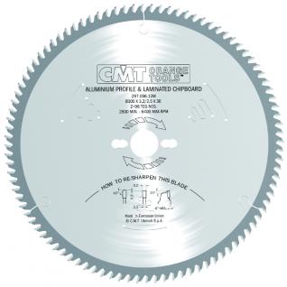 Диск пильный по цветным металлами и ламинированным панелям CMT 297.080.10P