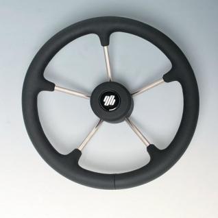 "Ultraflex Рулевое колесо из нержавеющей стали Ultraflex V70B ""Кожа каймана"" 39442D"