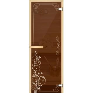 Арт-серия (AJIO) 7х19 (8мм) с рисунком: коробка -осина/липа: Дашин узор