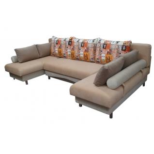 Палермо 1 угловой диван-кровать с двумя канапе