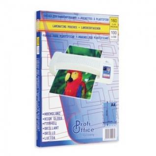 Пленка для ламинирования ProfiOffice А4, 80мкм 100шт/уп.