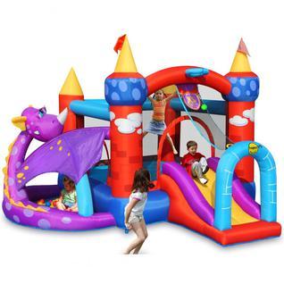 HAPPY HOP Детский надувной Батут HAPPY HOP Дракоша 9022