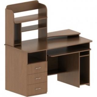 Стол компьютерный Mon_СК 14 Орех Гварнери