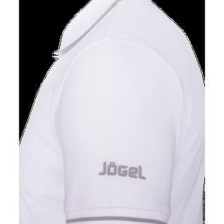 Поло детское Jögel Jpp-5101-018, белый/серый размер YL
