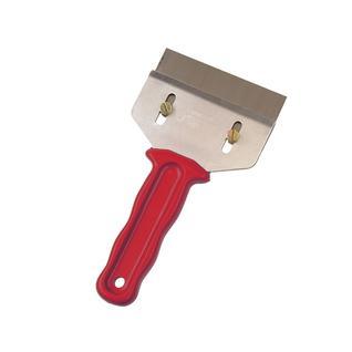 Скребок для очистки, высококач. закаленная сталь, пласт. ручка 100мм Mako