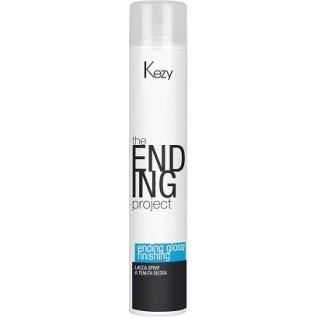 Ending glossy finishing spray - Спрей-лак надежной фиксации Kezy