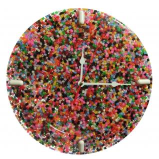 """Часы настенные """"Fondali"""" Бисер цветной."""