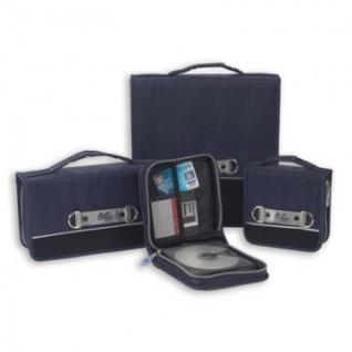 Портмоне для CD/DVD дисков РО для 24 CD MT-24E синий