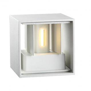 357518 NT18 098 белый Светильник ландшафтный светодиодный IP54 COB 2*3W 220-240V CALLE NOVOTECH