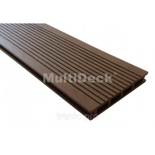 Террасная доска MultiDeck Optima 2800*140*22мм Multiplast