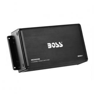 Усилитель 4-канальный Boss Marine 500 Вт Bluetooth, черный (MC900B)