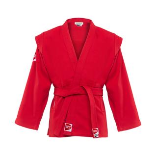 Куртка для самбо Green Hill Junior Scj-2201, красный, р.3/160