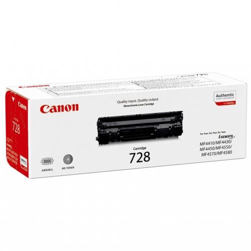 Картридж Cartridge 728 для Canon i-Sensis MF4410, MF4430, MF4450, MF4550, MF4570, MF4580 (чёрный, 2100 стр.) 955-01 852361 1