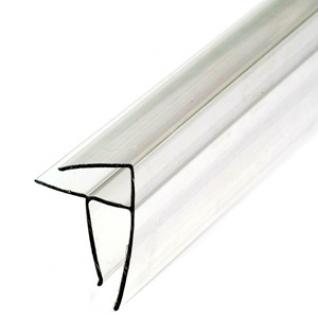 Профиль У угловой для поликарбоната 6мм (6м) / Профиль У угловой прозрачный для поликарбоната 6мм (6м)