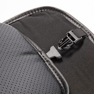 Накидка на сиденье каркасная AUTOPROFI экокожа HIT-310G BK/BK