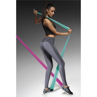 Легинсы для фитнеса Victoria серый L Bas Bleu