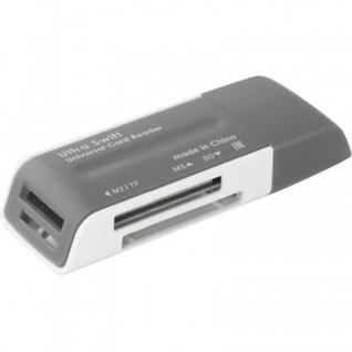 Картридер Defender Ultra Swift USB 2.0, 4 слота(83260)