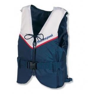 Жилет страховочный Marine Pool Champion Classic PE сине-серый 60-70 (5000415_60-70)
