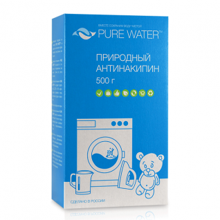 pure-water Антинакипин природный Pure Water 500 гр МиКо