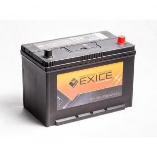 Аккумулятор EXICE 115D31L Asia 100 Ач PROFESSIONAL обратная полярность - 115D31L EXICE (ЭКСИС) 115D31L