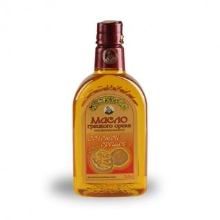 Масло грецкого ореха «Золотой орешек», 0.50 л, ПЭТ