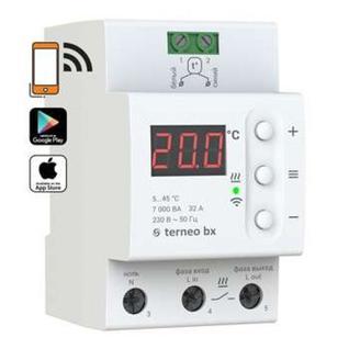 Wi-Fi программируемый терморегулятор terneo bx