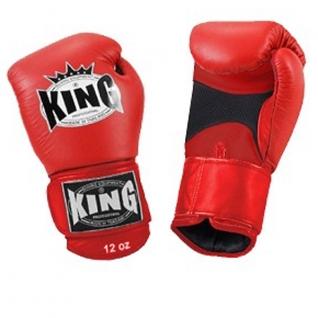King Перчатки боксерские King KBGAV 14 унций красные