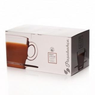 Сервиз чайный АКВА на 6 перс. из закаленного стекла 215 мл (95040BT)