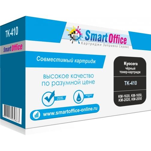 Тонер-картридж TK-410 для KYOCERA KM-1620, KM-1650, KM-2020, KM-2050, совместимый Smart Graphics (чёрный, 15000 стр.) 4467-01 851406 1