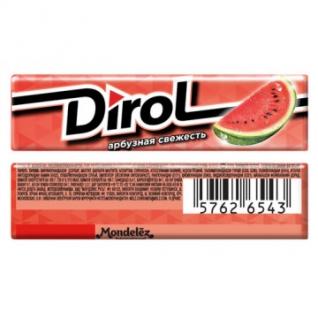 Жевательная резинка DIROL Арбузная свежесть 13,6г