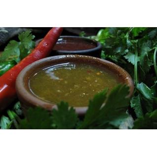 Грузинский соус Ткемали зеленый (500 грамм)