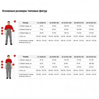 Спец.одежда зимняя Полукомбинезон жен. зим. з10-ПК (р.56-58) 170-