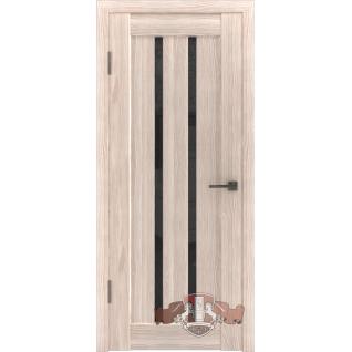 Межкомнатная дверь LINE 2 Л2ПГ1 стекло ультра черное