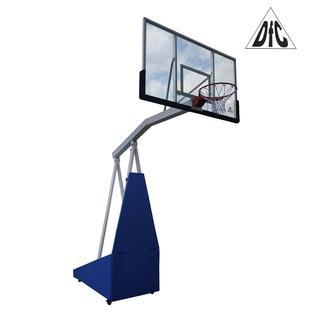 DFC Баскетбольная мобильная стойка DFC STAND72G PRO 180x105см стекло 12мм (шесть коробов)