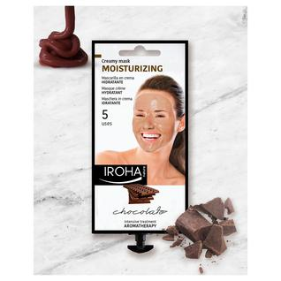 Маска для лица кремовая увлажняющая Iroha с шоколадом и маслом ши 25 гр
