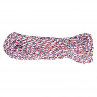 Made in Germany Паракорд, цвет сине-бело-красный, рулон 30 м