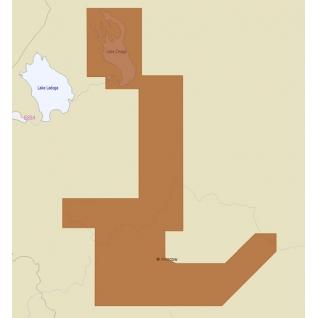 Карта C-MAP RS-N219 - реки Москва, Ока, Волга и Онежское озеро C-MAP