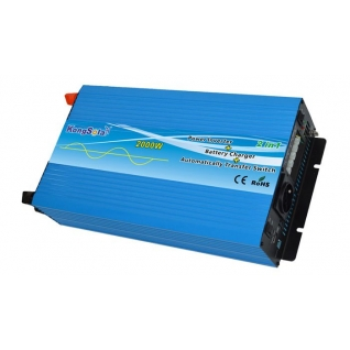 Преобразователь напряжения KongSolar KPC24/2000 с функцией зарядки (ИБП, реальный синус) KongSolar