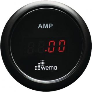 Wema Амперметр с красным светодиодным дисплеем Wema AMP-KIT-BB 12/24 В 52 мм