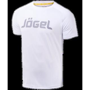 Футболка тренировочная детская Jögel Jtt-1041-018, полиэстер, белый/серый размер YM