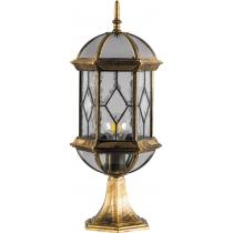 Садово-парковый фонарь Feron PL171 60W 230V E27 черное золото