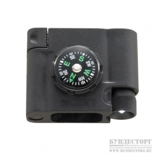 CRKT Компас Stokes Survival Bracelet Accessory - Compass L.E.D & Fire Starte