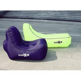 Надувной диван lamzac кресло NEW фиолетовый Hobbyxit