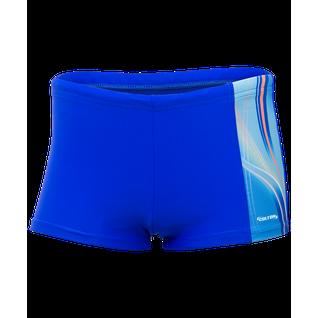 Плавки-шорты Colton Ss-2985 Wave, детские, синий/голубой (32-42) размер 36