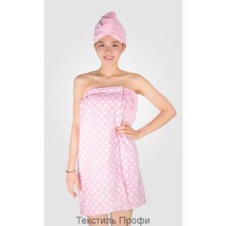 TB 149-2 Набор банный (розовый) Вальтери