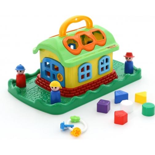 Сказочный домик на лужайке (в сеточке) Полесье 37879990