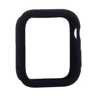 Чехол силиконовый бампер COTEetCI Liquid Silicone Case для Apple Watch Series 5/ 4 (CS7067-BK) 40мм Черный