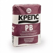 Ровнитель для пола Крепс РВ /25,0 кг/ (56 шт на поддоне)
