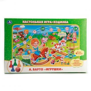 """Настольная Игра-Ходилка """"Умка"""" А.Барто """"Игрушки"""" В Русс."""